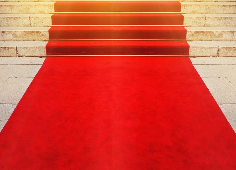 השכרת שטיח אדום 9.90₪